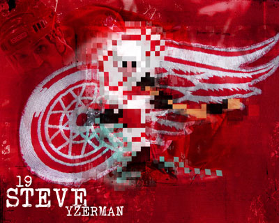Steve Yzerman Wallpaper